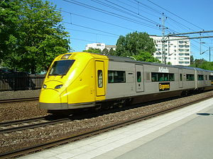Arlanda Express - Arlanda Express train