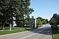 Arlington National Cemetery - looking S at rear of Schley Gate 2 - 2011.jpg