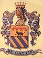 Arma della Famiglia De Gattis di Martirano, ramo calabrese dei Gatti, Nobili Patrizi di Viterbo..jpg