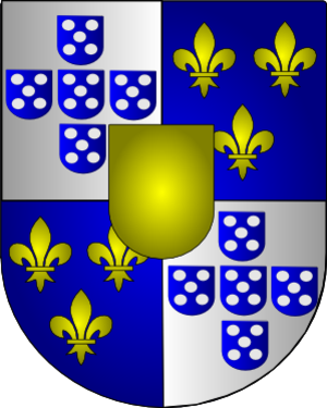 Count of Ericeira - Coat of Arms of the Condes da Ericeira