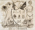 Arms of ye Confederacie 1862 (satirical).jpg
