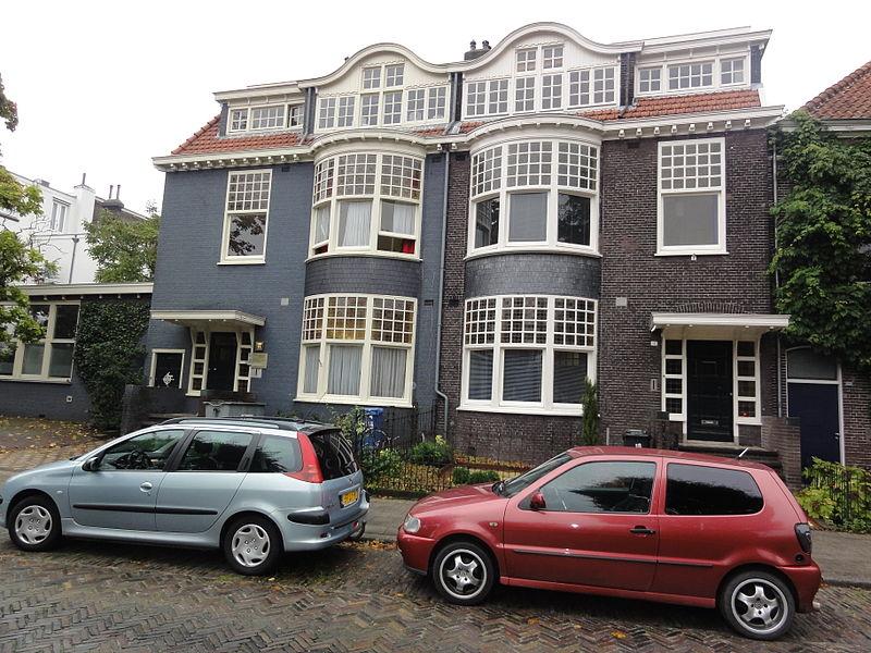 Dubbel herenhuis met hek thans tandartspraktijk nummer for Kamerverhuur rotterdam