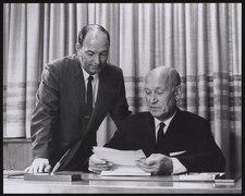 Arnold O. Beckman and William Ballhaus Sr. 1967 Feedback 2012 002 488 474299495.tiff
