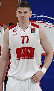 Artūras Gudaitis Lithuanian basketball player