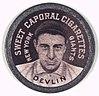 Art Devlin, New York Giants, baseball card portrait LCCN2007683800.jpg