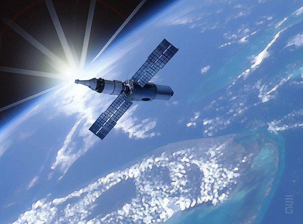 Artist's concept of Cislunar Spacecraft Configuration