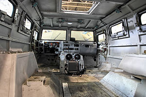 GAZ Tigr - GAZ-223114 Tigr-M with unfinished interior on the assembly line