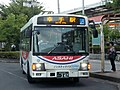 Asahibus 2235 at Sugito-Takanodai Station.jpg