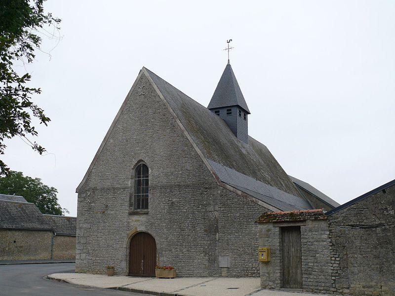 Saint-Charles' church of Ascoux (Loiret, Centre-Val de Loire, France).