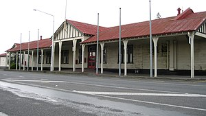 Ashburton, New Zealand - Image: Ashburton Station 02 gobeirne