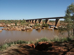 Ashburton River (Western Australia) - Ashburton River at Nanutarra