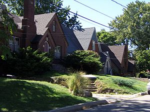 Ashby Manor Historic District - Image: Ashby Manor Homes