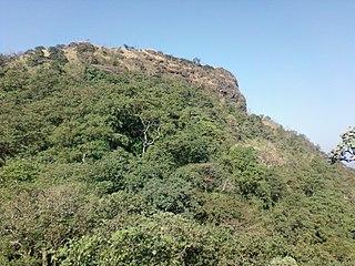 Asheri fort building in India