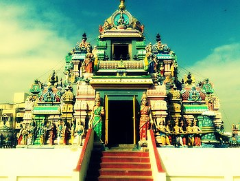 Ashtalakshmi Kovil - Temple of Eight Lakshmis, Chennai, Tamil Nadu, India.jpg