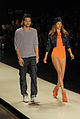 Ashton Kutcher, o modelo mais esperado dessa edição da SPFW @ São Paulo Fashion Week em Junho de 2011.jpg