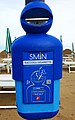 Ashtray, Cigarette Disposal Container on the Beach Lido di Jesolo, Italy.jpg