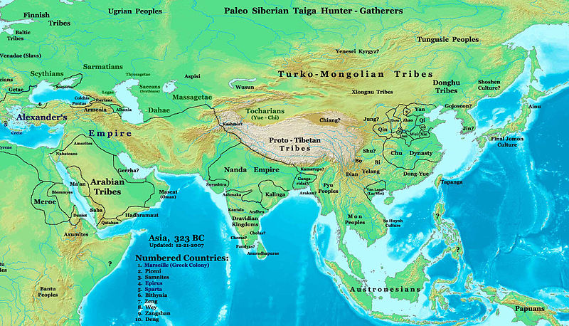 post classical india and east asia