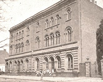 The Public Theater - The Astor Library in the latter half of the 19th century