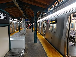 Astoria–Ditmars Boulevard station New York City Subway station in Queens