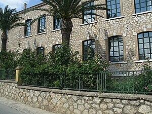 Education in Greece - The public school of Astros, built in 1915.