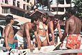 At Waikiki Beach, 1988.jpg