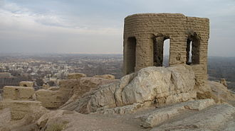 Battle of Spahan - Picture of one the few remaining Zoroastrian temples in Isfahan