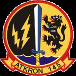 VA-145 (U.S. Navy) - Image: Attack Squadron 145 (US Navy) insignia c 1974