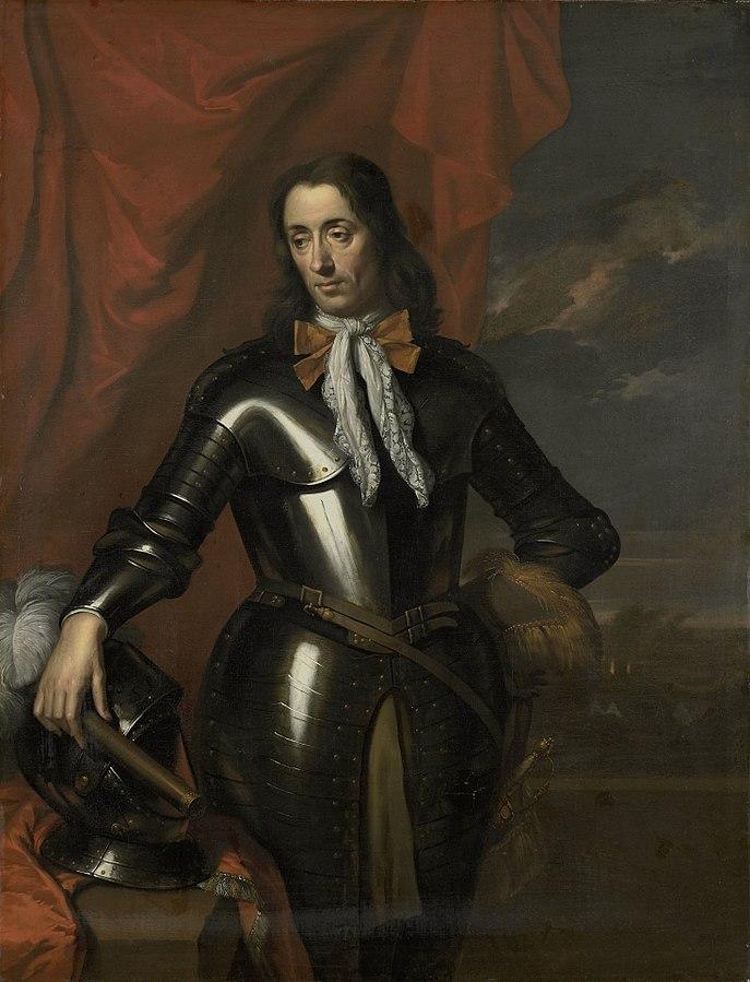 Portrait of Isaac de l'Ostal de Saint-Martin (ca 1629-96), governor of the Dutch East Indies and commander of the garrison at Batavia