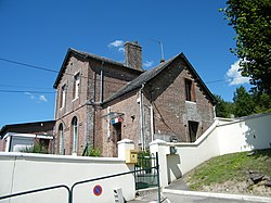 Aubermesnil-aux-Erables, Seine-Maritime, France, Mairie.JPG