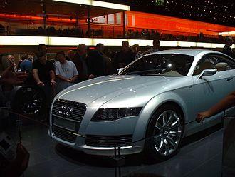 Audi Nuvolari quattro - Image: Audi nuvolari studie