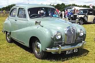 Austin A40 Somerset - Image: Austin A40 Somerset 1200cc mfd 1954