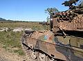 Australian Leopard AS1 tank attacking.jpg