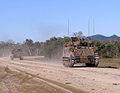 Australian M113s on road.jpg
