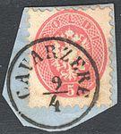 Austria Lombardy-Venetia 1864 CAVARZERE.jpg