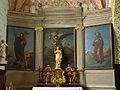 Autel du collatéral gauche - église Saint-Martin de Caupenne.jpg