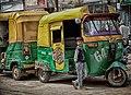 Auto rickshaws HDR (11071979624).jpg