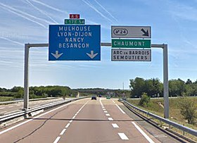 Image illustrative de l'article Autoroute A5 (France)
