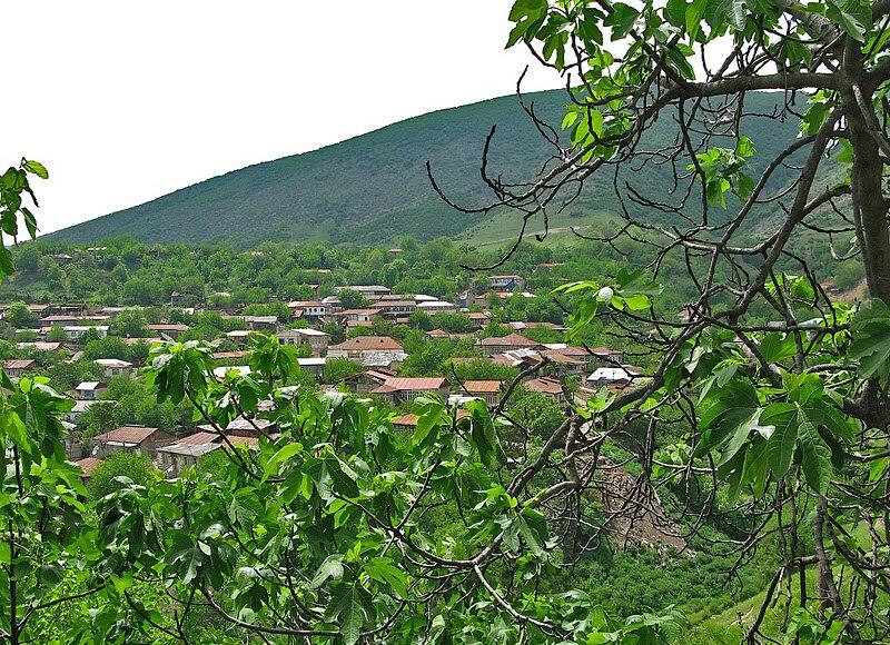 Azokh village NKR