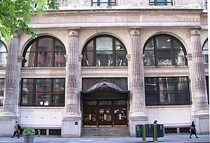 Graduate Center, CUNY - B. Altman Building CUNY Graduate Center 34th Street entrance