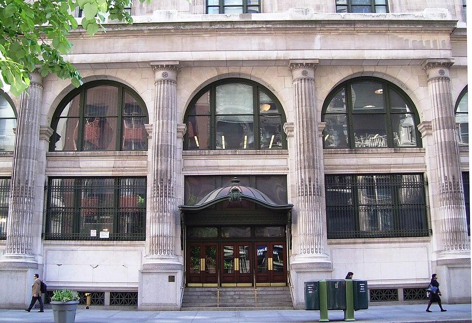 B. Altman Building CUNY Graduate Center 34th Street entrance