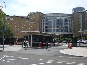 BBC - BBC Television Centre at White City, West London, which opened in 1960 and closed in 2013.