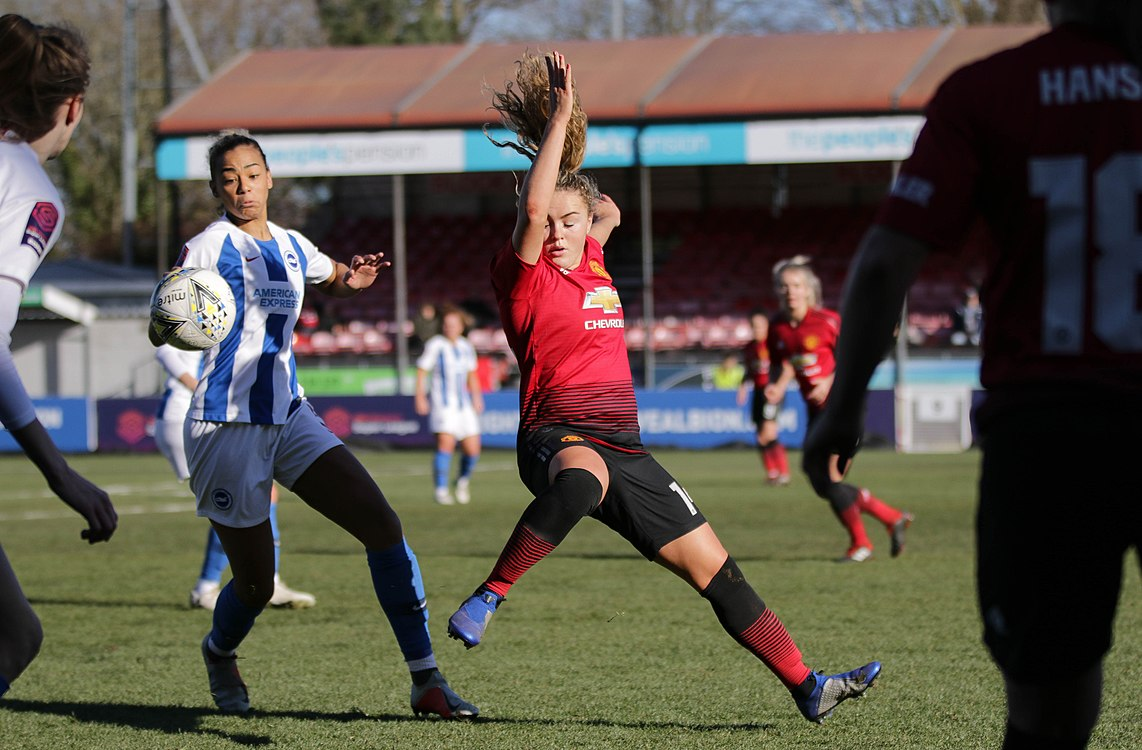 BHA Women 0 Man Utd Women 2 WFAC 4th rd 03 02 2019-711 (40021424843).jpg