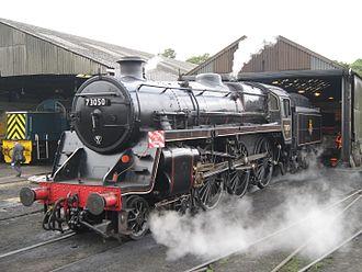 BR Standard Class 5 - Image: BR Standard Class 5 73050