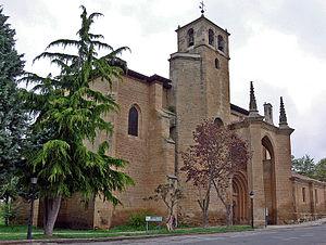 Bañares - Church of Santa Cruz