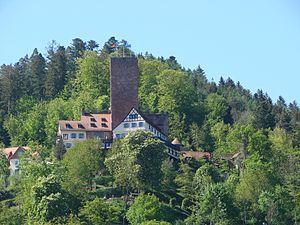 Liebenzell Castle - Image: Bad Liebenzell Burg
