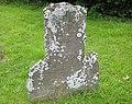 Badly weathered gravestone, St Bartholomew's - geograph.org.uk - 850476.jpg