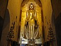 Bagan, Myanmar, Standing Buddha in Ananda Temple.jpg
