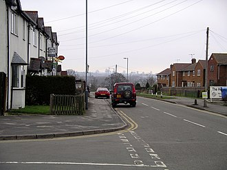 Baginton - Image: Baginton Coventry Road 18f 07