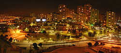 Bahçeşehir'in gece görünümü