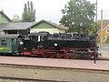 Bahnhof Moritzburg, 99 1761-8 mit Zug (4) Aufenthalt.jpg